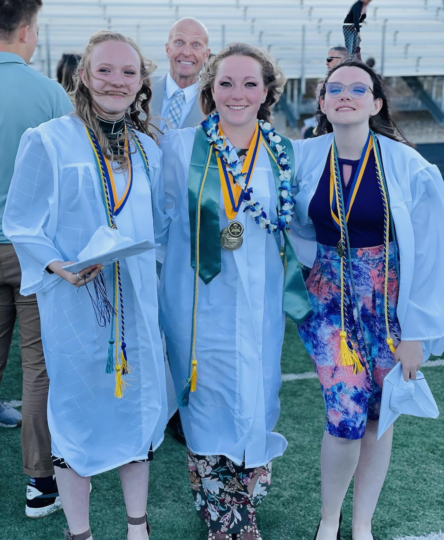 Photobomb at graduation