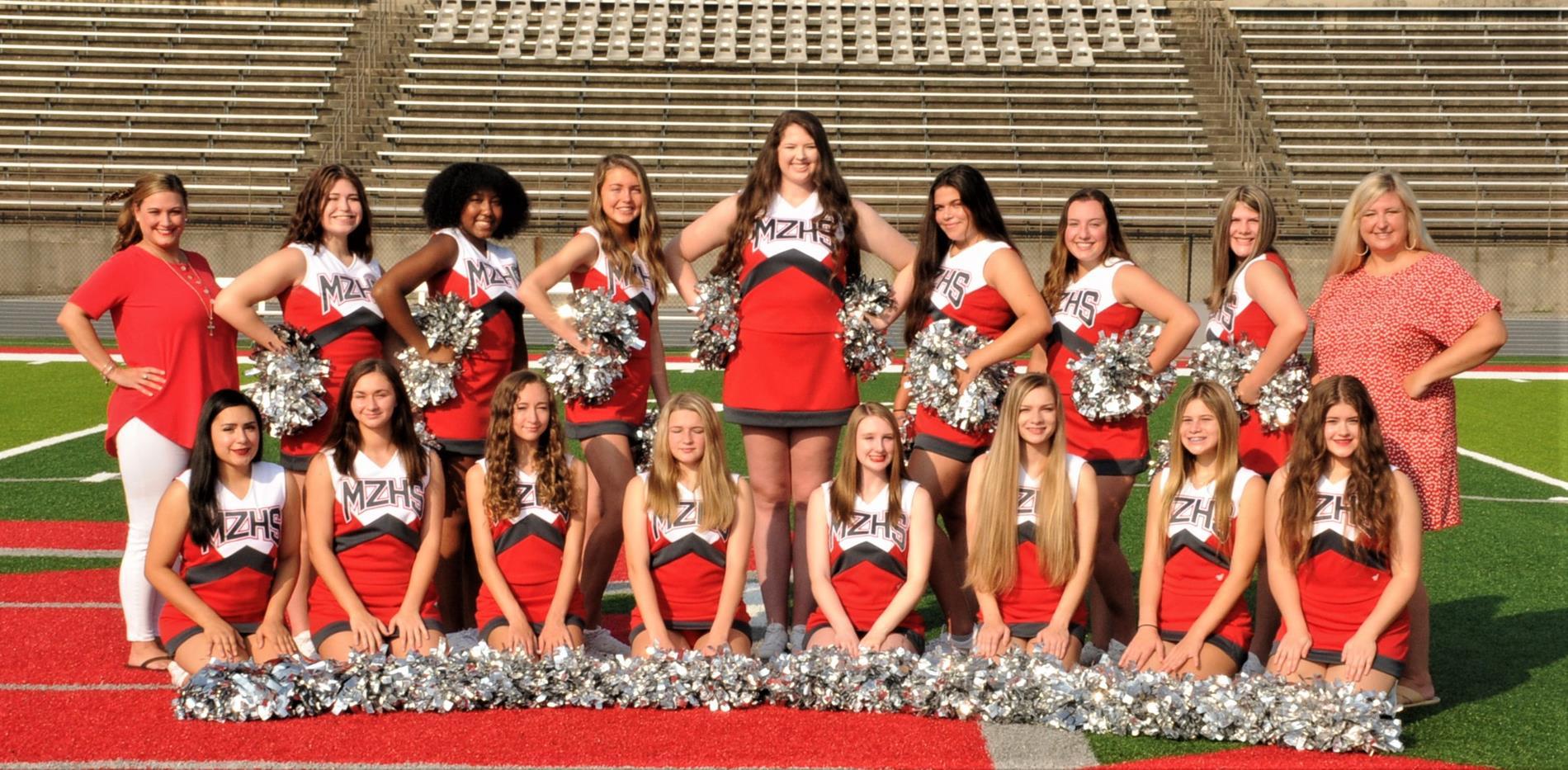 2021 Cheerleaders