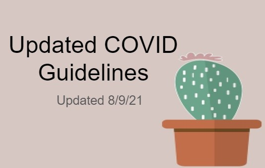 Updated COVID Guidelines