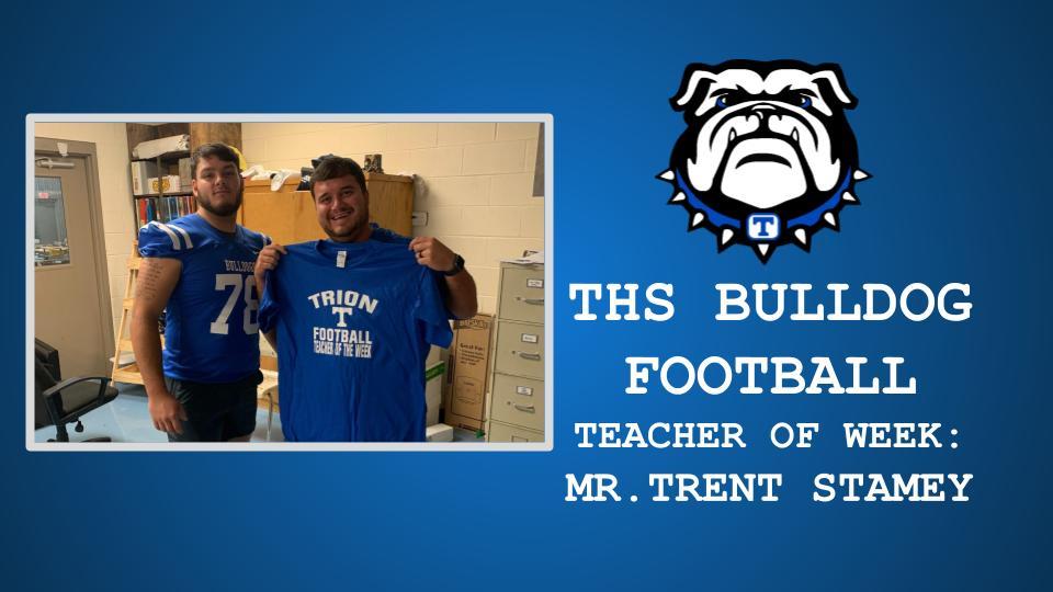 THS FOOTBALL TEACHER OF THE WEEK: 09/17/2021
