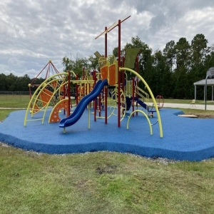 New Playground Equipment at Sally D. Meadows