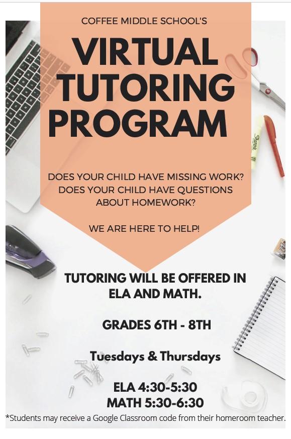 Virtual Tutoring Program