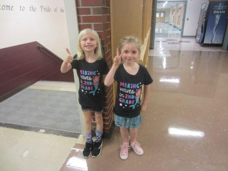 New second graders