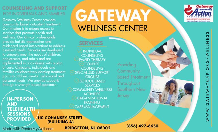 Gateway Wellness Center Brochure