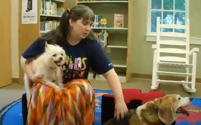 Tails and Tales at Estill Library