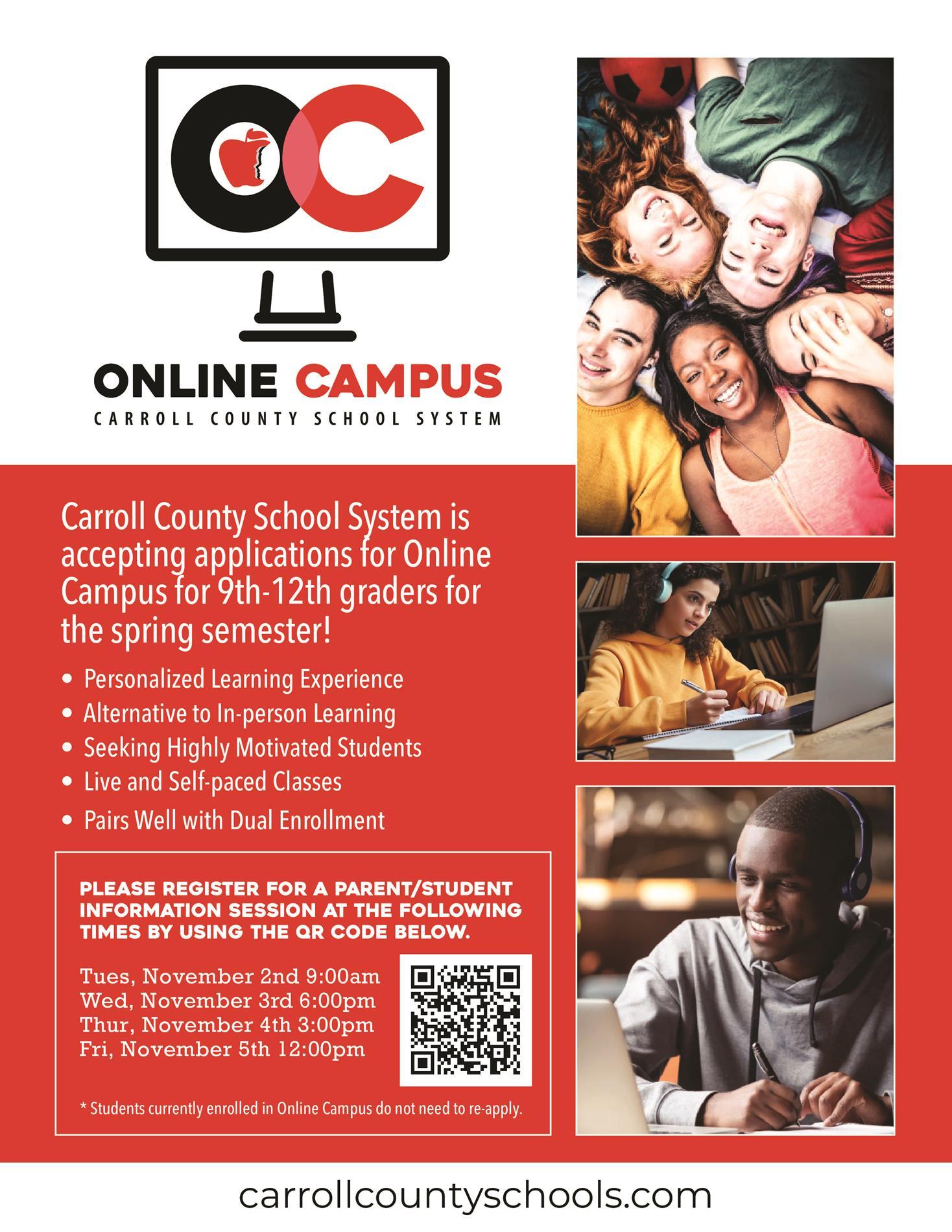 Online Campus Flyer