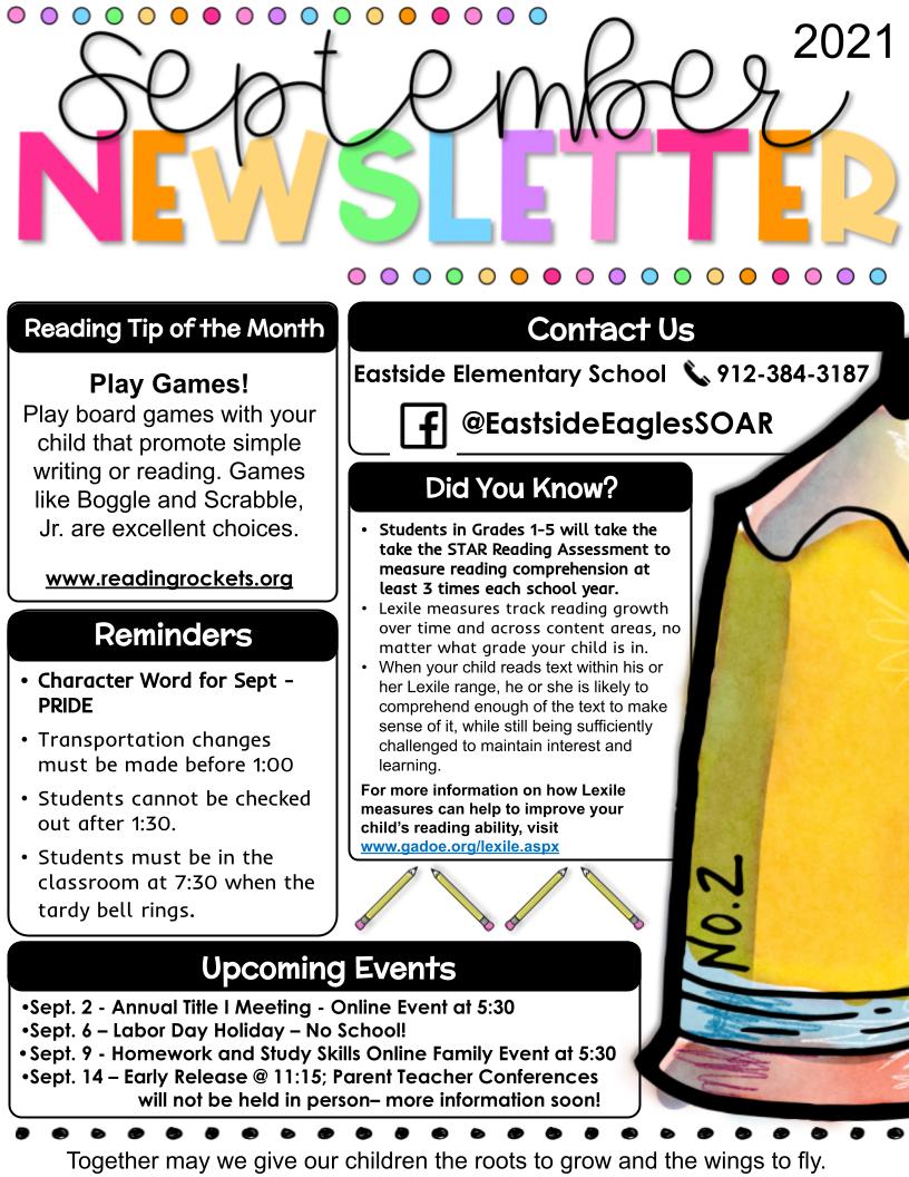 September FY22 Newsletter