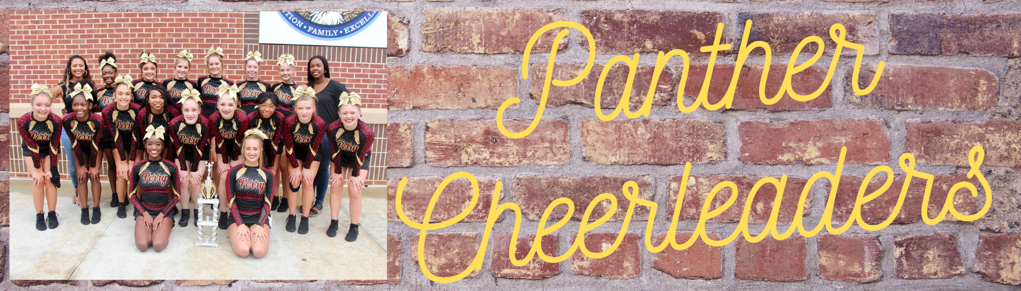 Panther Cheerleaders