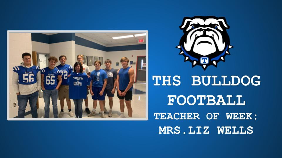 THS FOOTBALL TEACHER OF THE WEEK: MRS. WELLS