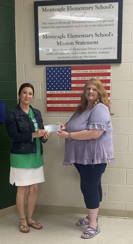 A BIG thank you to South Cumberland for their generous donation for our auditorium upgrades.