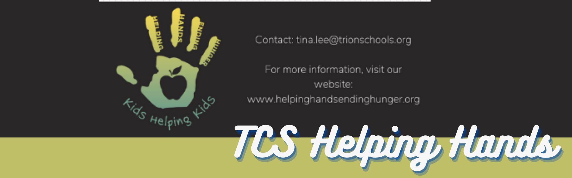 TCS HELPING HANDS