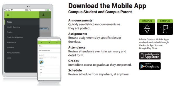 apps for infinite campus