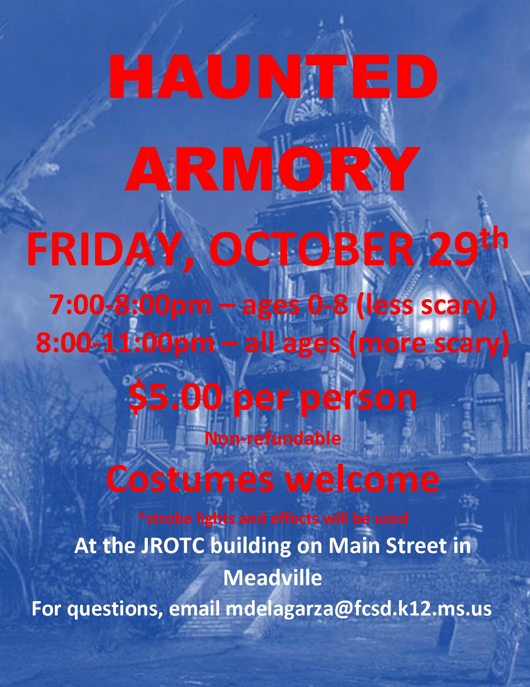 haunted armory
