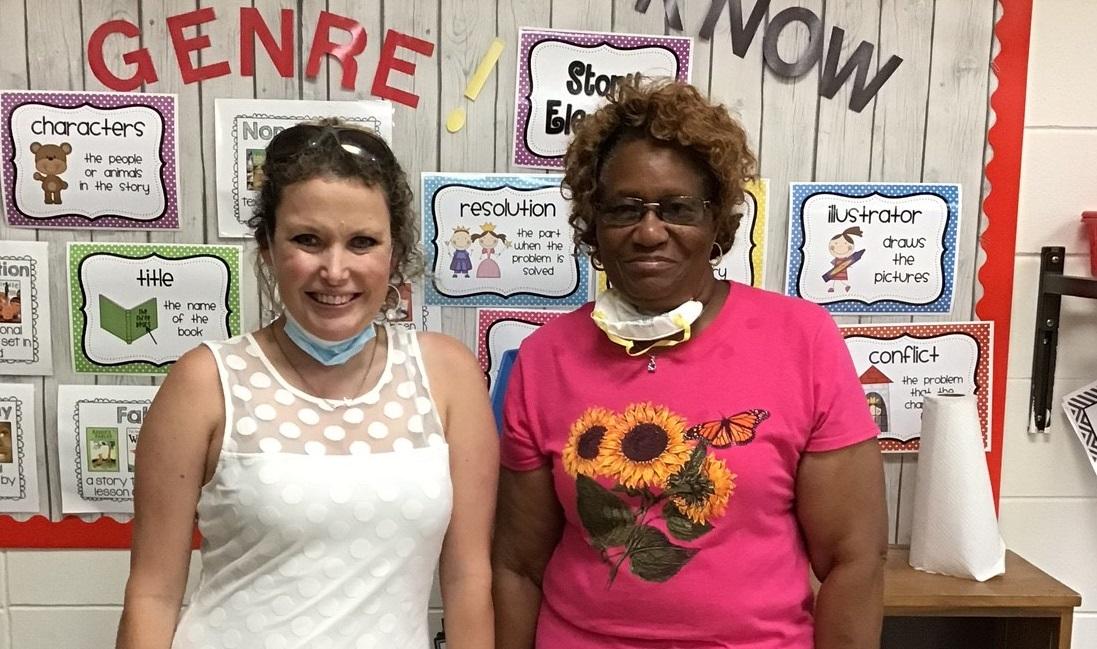 Mrs. Tabor & Mrs. Moore
