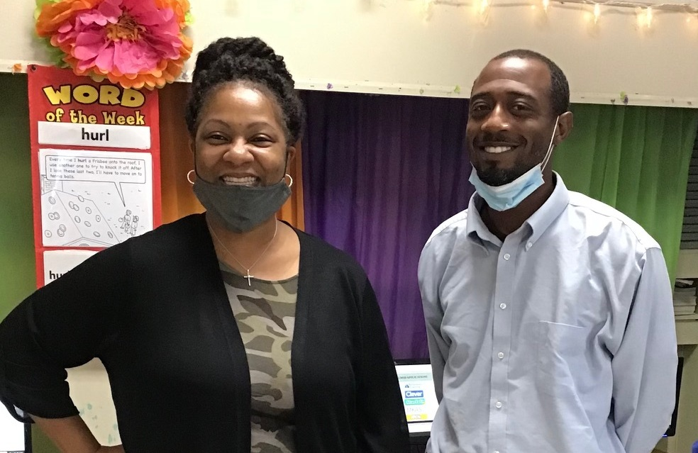 Mrs. Frazier & Mr. Heard