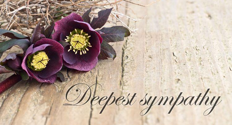 condolence flowers