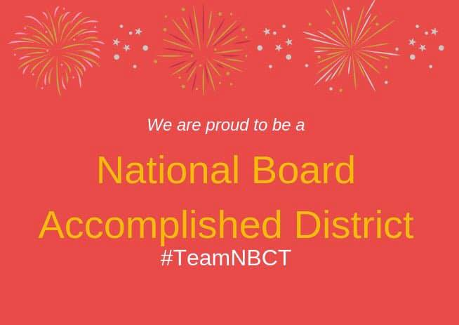 National Board Accomplished District