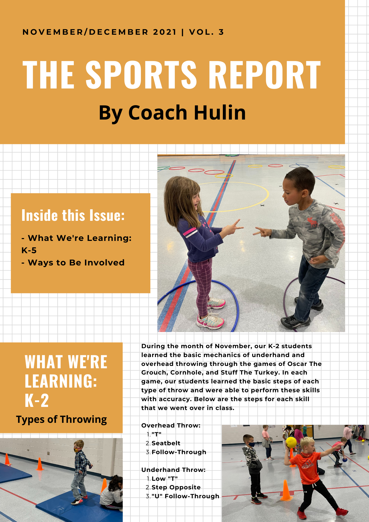 The Sports Report with Coach Hulin