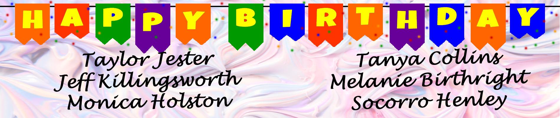september birthday banner