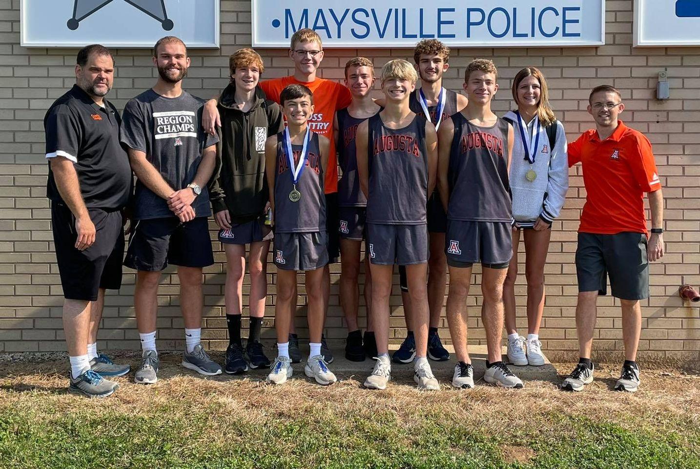 2021 Mason Meet team photo