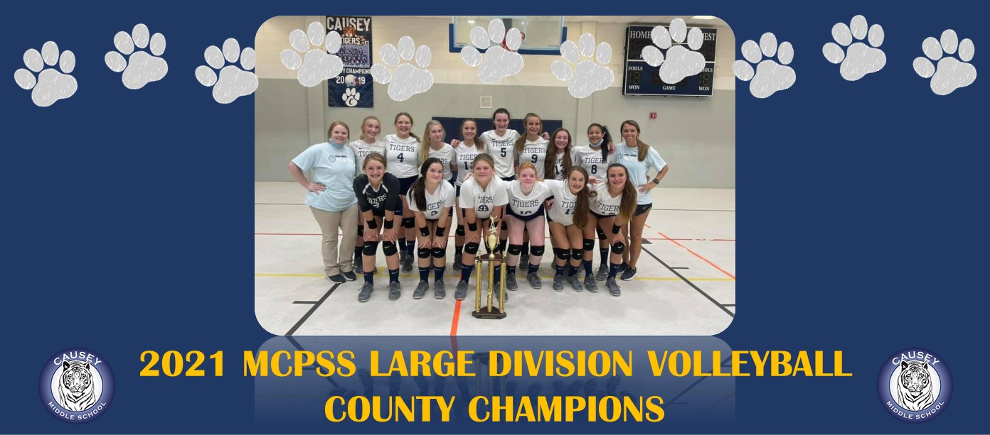 2021 Volleyball County Champions