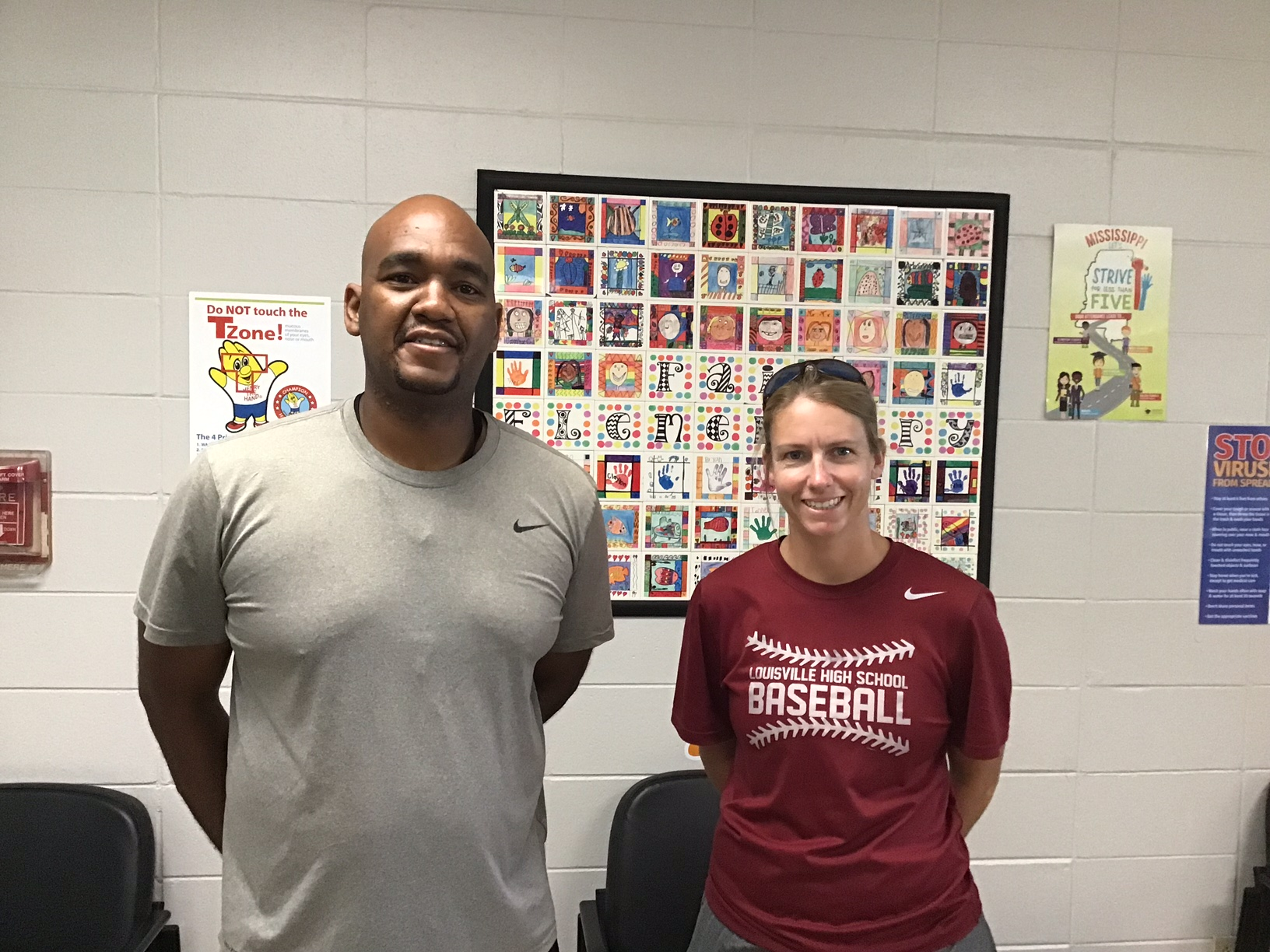 Coach Hunter & Coach Mitchell