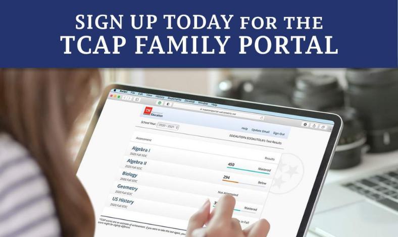 TCAP Family Portal Link