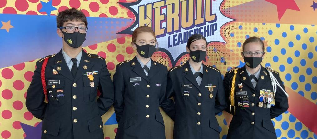 JROTC Officers