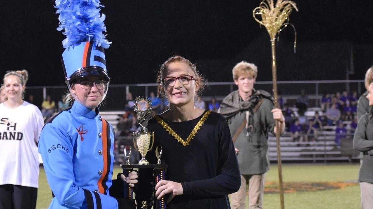 WC Band Accepting Awards