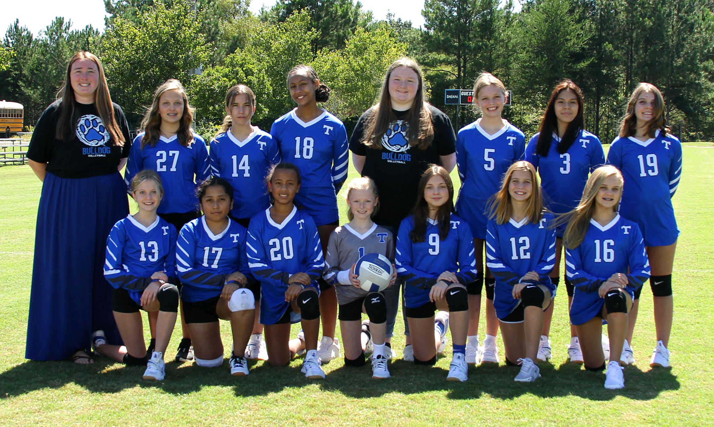 Trion Middle School JV Volleyball Team