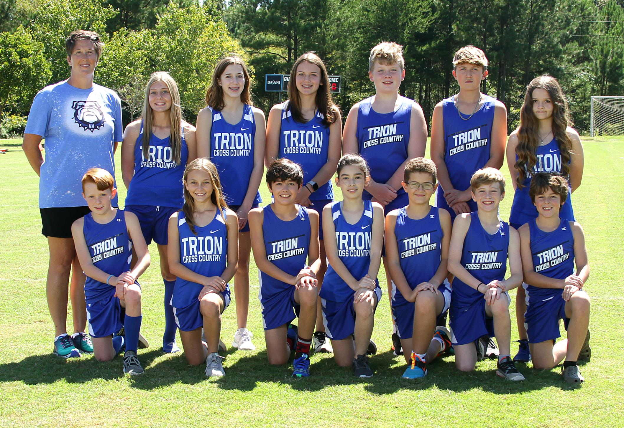 Trion Middle School Cross Country Team