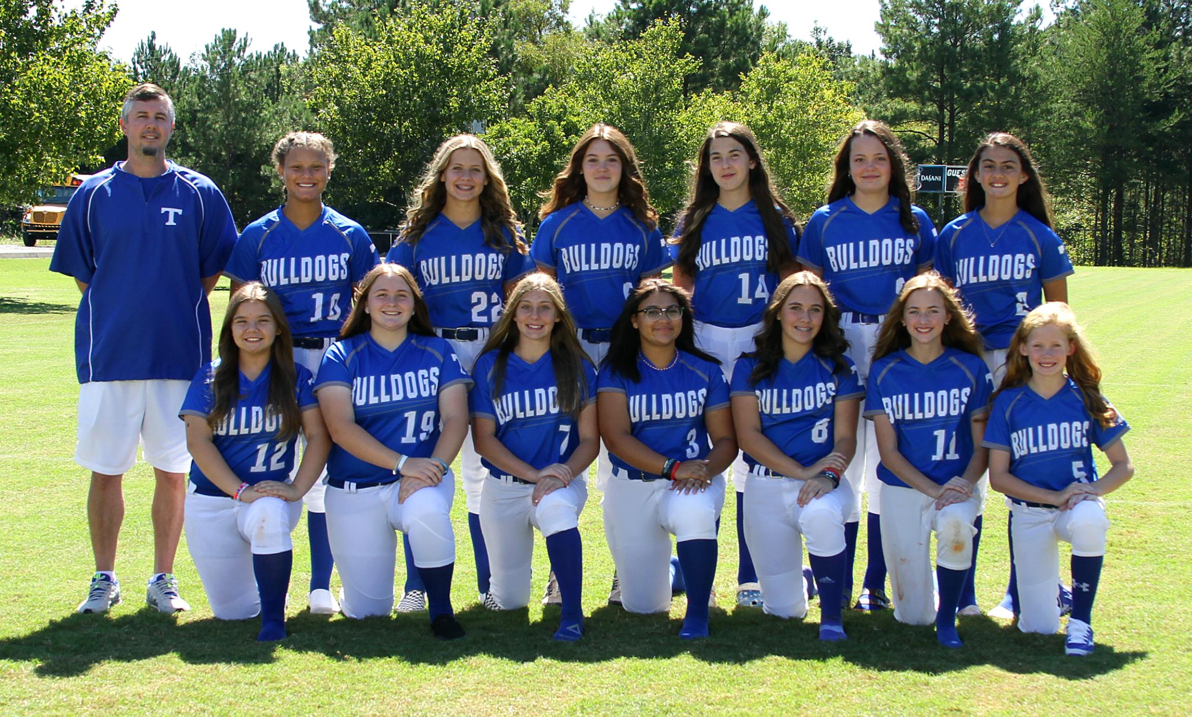 Trion Middle School Softball Team